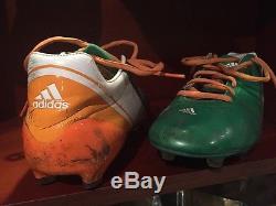 George Atkinson III Notre Dame Football 2012 Dublin Ireland Game Used Cleats