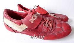 George Hendrick #25 Game Used Pony Vintage Baseball Cleats St. Louis Cardinals