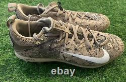 George Springer Houston Astros Game Used Worn Cleats 2017 Memorial Day HR MLB