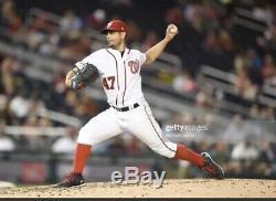 Gio Gonzalez Washington Nationals Game Used Baseball Cleats NY Yankees Jordan