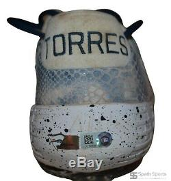 Gleyber Torres New York Yankees Autographed 2019 Game Used Cleats (Fanatics/MLB)