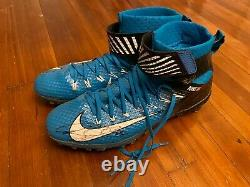 Greg Olsen Carolina Panthers Autographed Game Used NIKE Football Cleats #88