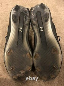 Gunnar Henderson Baltimore Orioles Autographed Game Used Cleats (B)