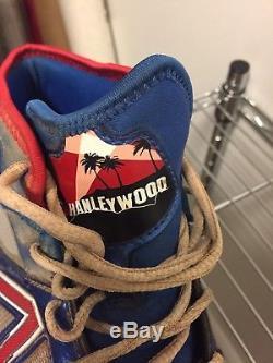 Hanley Ramirez Game Used Signed Auto 2013 Hanleywood Cleats Dodgers
