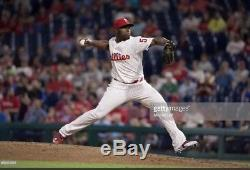 Hector Neris Game Used Cleats Philadelphia Phillies MLB Dominican Republic