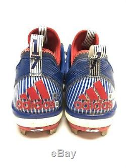 Historic 2016 GAME USED Signed KRIS BRYANT MVP CLEATS MLB & Fanatics COA Cubs