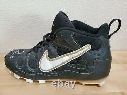 Hof Jeff Bagwell Game Used Cleats Autographed Jeff Bagwell Ken Caminiti Beckett