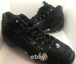 Ivan Pudge Rodriguez Game Used Signed Cleats Rodriguez Personal Collection
