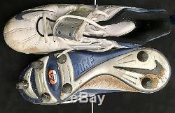 JON KITNA -Seahawks 1997-2000 signed game used Nike cleats