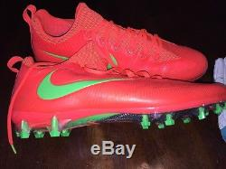Jarvis Landry #14 Miami Dolphins Game Used Worn Cleats Matched Pro Bowler