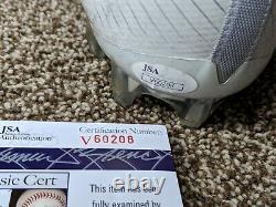 Jarvis Landry Signed & Game Used GU 16 Cleat (Left) JSA & 11x14 Art Print