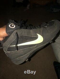 Jason Giambi Game Used Nike 3/4 Baseball Cleats
