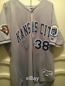 Jason Grimsley Game Used Jersey and Cleats