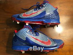 Jason Heyward 2016 Game Used Cleats Chicago Cubs World Series Championship Year
