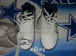 Jason Witten Game Used / Practice Worn Used Autographed Dallas Cowboys Cleats