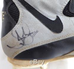 Jay Buhner Autographed Signed Game Used Nike Mariners Cleats Shoes SKU #131863