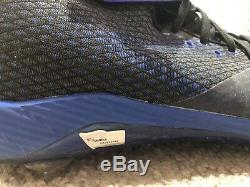 Jeff McNeil Mets Rookie 2018 Game Used Signed Cleats