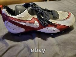 Jerry Rice Game Used San Francisco 49ERS Football Cleat HOF Shoe 49ers- MCM