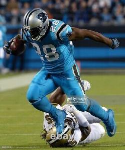 Jonathan Stewart Game Used Worn Cleats Carolina Panthers