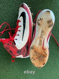 Jordan Hicks (ST. LOUIS) Player Exclusive Let the Games Begin Game Worn Cleat
