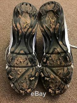 Jose Abreu JSA Player Direct Game Used Autographed Cleats 2015 Chicago White Sox