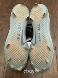 Josh Donaldson GAME USED CLEATS pair autograph SIGNED Blue Jays worn