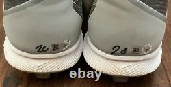 Josh Donaldson GAME USED CLEATS pair autograph SIGNED Blue Jays worn MLB AUTH