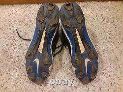 Josh Hamilton Game Used Autographed Bat Cleats MLB Authenticated From MVP Year