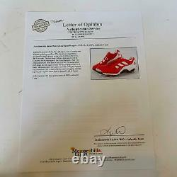 Juan Gonzalez Signed 1999 Game Used Cleats Pair With JSA COA Texas Rangers