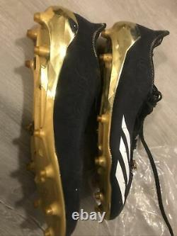 Juju Smith-Schuster 2017 Game Used Worn Cleats Pittsburgh Steelers Photo Matched