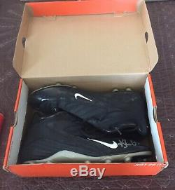 KYLE ORTON Chicago Bears QB NFL Game Used Nike Cleats Size 14 Signed Autographed
