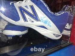 Kansas City Royals Game Used Lot Duffy Signed Cleats Lineup Card Auto Team Ball