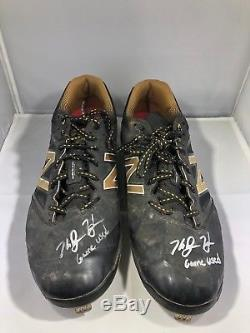 Ke'Bryan Hayes autographed signed Game Used cleats MLB Pittsburgh Pirates LOA