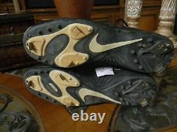 Ken Griffey Jr 1999 Game Used Autographed Signed NIKE Cleats Mariners HOF 2016