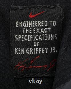 Ken Griffey Jr. Game Used Cincinnati Reds Circa 2001 Cleats Grey Flannel LOA