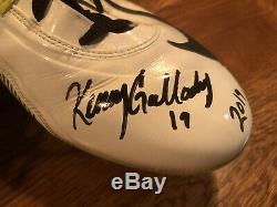Kenny Golladay Lions Auto Game Used Worn Nike Cleats Signed Coa Photo Proof