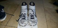 Kevin Kiermaier Rays 2020 World Series Game Used Autograph Home Run Cleats