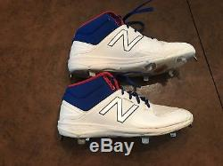Kike Enrique Hernandez Los Angeles Dodgers Game Used 2016 NLCS Playoffs Cleats