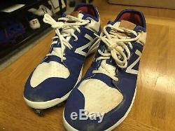 Kike Enrique Hernandez Los Angeles Dodgers Game Used Cleats Photomatched