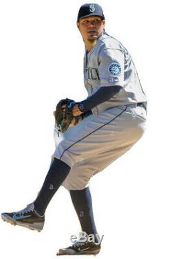 King Felix Hernandez Game Used Cleats 2016 Seattle Mariners