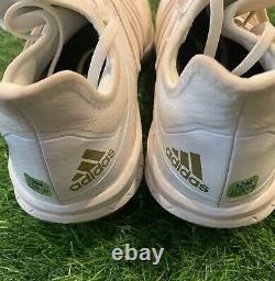 Kris Bryant Chicago Cubs Game Used Gold Cleats 2020 Signed LOA