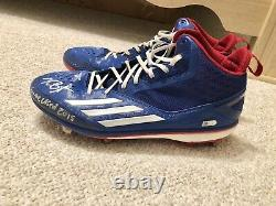 Kris Bryant Game Used Rookie Cleats Fanatics