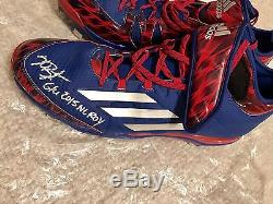 Kris Bryant Signed Game Used Cleats