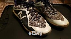 Luis arraez game used cleats signed (mn twins)