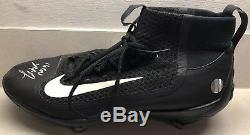 Madison Bumgarner Auto Autographed Game Used 2016 Nike Cleats LOJO COA Giants