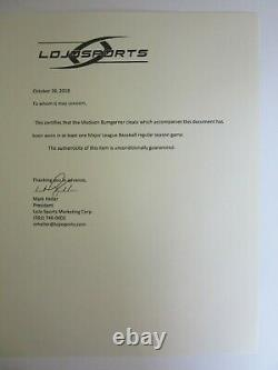 Madison Bumgarner Signed Nike Game-Used Baseball Cleats LOJO LOA & Beckett COA