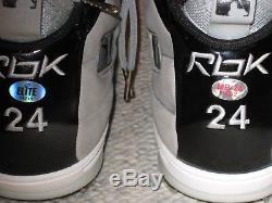 Manny Ramirez Game Used Autographed Signed Baseball Cleats Size 11 Mr 24 Coa