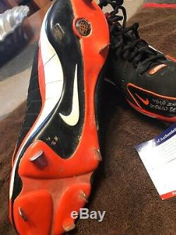 Marcos Scutaro World Series Game Used Cleats