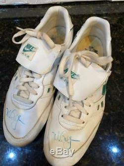 Mark McGwire Game Used/Worn/Signed Cleats