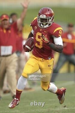 Marqise Lee Game Used USC Trojans Cleats Game Worn Jersey